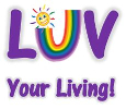 LUV Your Living Logo