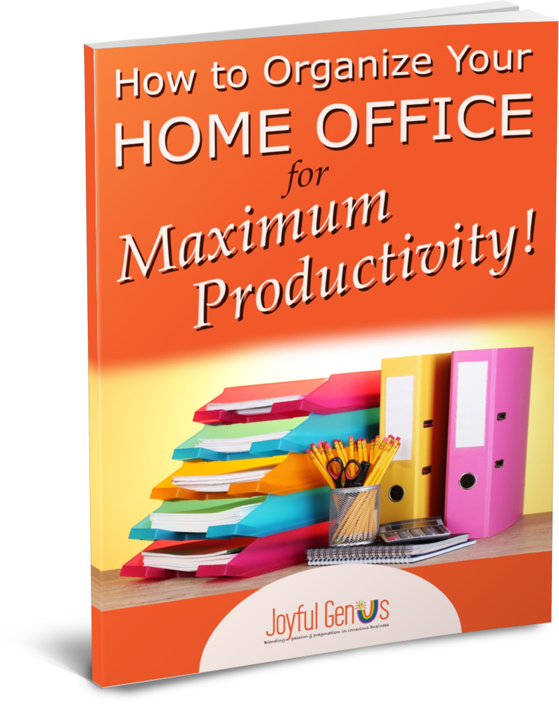 Organize Your Home Office - thin paperback