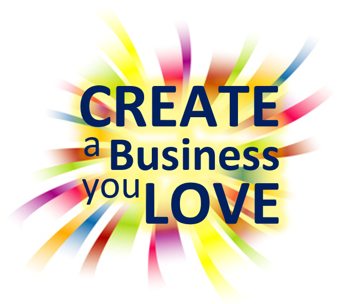 Create a Business Your Love - splash logo