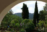 Terrace in Sardinia with mountain views
